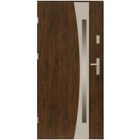 Двери ЕВРОПА PVC 70 Оник со стеклом
