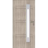 Двери ЕВРОПА PVC 101 Сатурн со стеклом