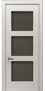 Двери межкомнатные T-4 40 мм стекло