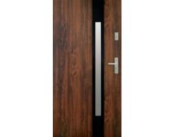 Двери ЕВРОПА PVC 70 Аурина blk со стеклом