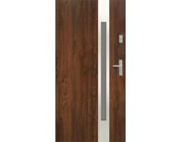Двери ЕВРОПА PVC 70 Аурина со стеклом