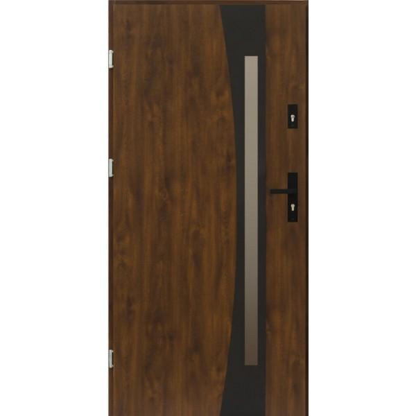 Двери ЕВРОПА PVC 70 Оник blk со стеклом