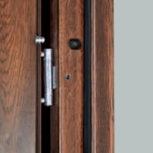 Двери ЕВРОПА PVC 70 Луна со стеклом
