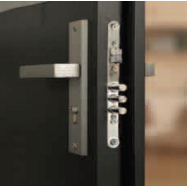 Двери ЕВРОПА PVC 70 Гатти со стеклом