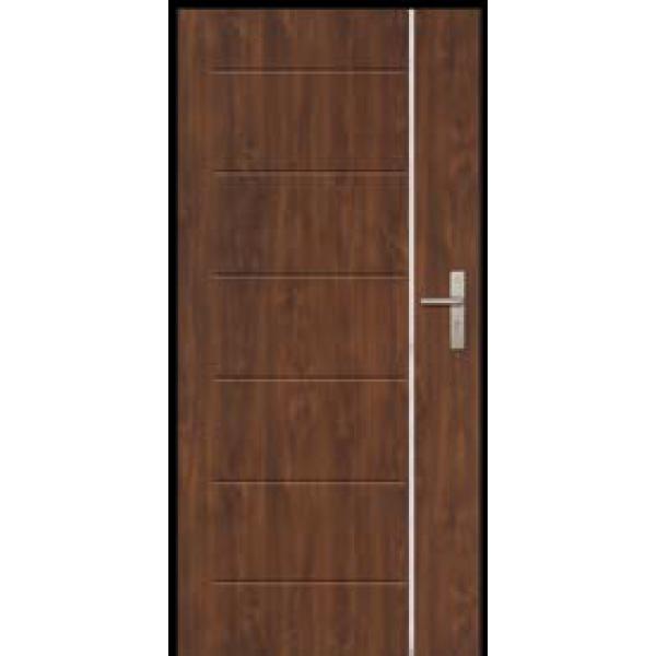 Двери ЕВРОПА PVC 101 Эрида с молдингом