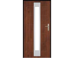 Двери ЕВРОПА PVC 101 Меркурий стекло