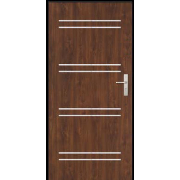 Двери ЕВРОПА PVC 101 Сатурн с молдингом