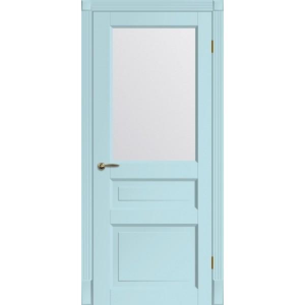 Двери межкомнатные МАДРИД со стеклом сборные