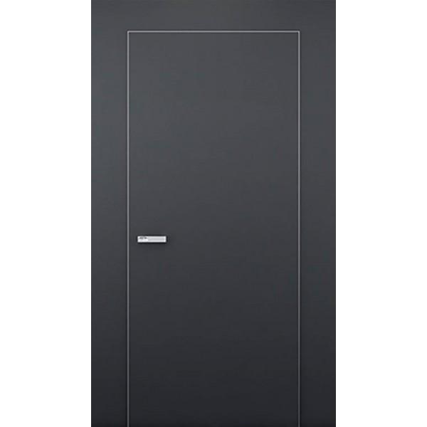 Двери скрытого монтажа 40 мм без алюминиевого торца