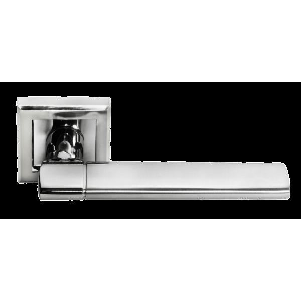 Ручка дверная MORELLI 21 белый никель/хром