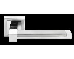 Ручка дверная MORELLI 39 матовый хром/хром