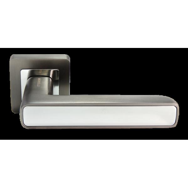 Ручка дверная MORELLI 44 графит/хром