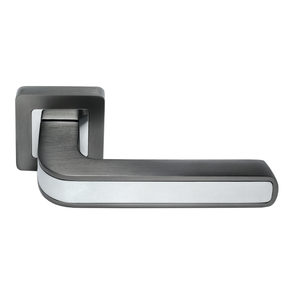Ручка дверная MORELLI 46 графит/хром