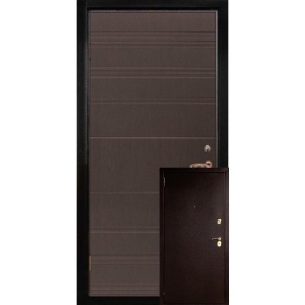 Двери металл/МДФ модель Берн
