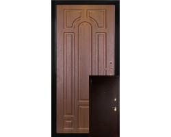Двери металл/МДФ модель Арка