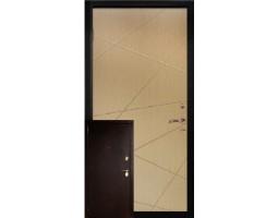 Двери металл/МДФ модель Лондон
