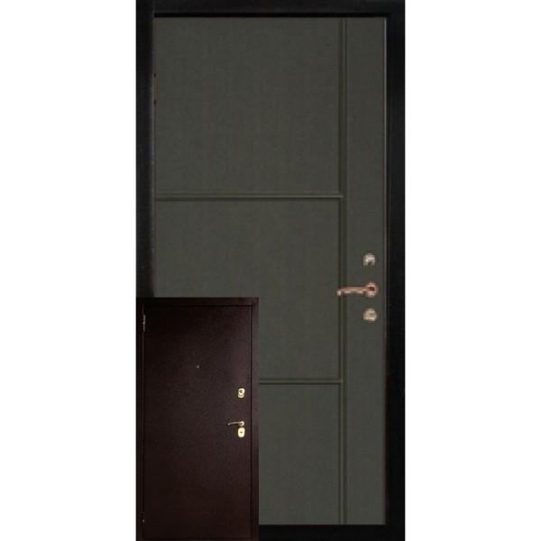 Двери металл/МДФ модель Рим